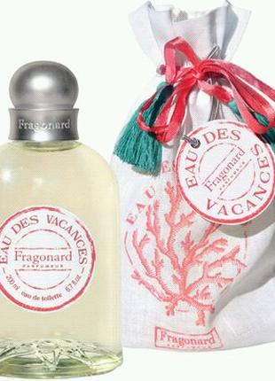 Eau des Vacances, Diamant від Fragonard