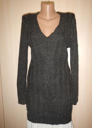 Теплый свитер  opl p.xl\xxl с шерстью
