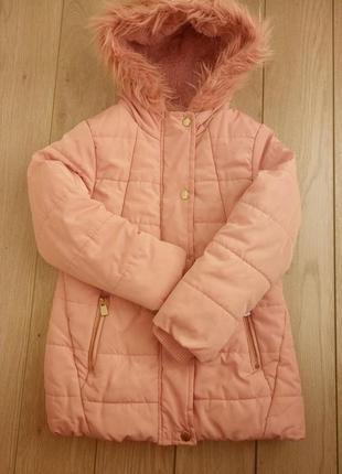Куртка зима, школа горки, садик 5-6 лет.110-116 см. фирма tu.