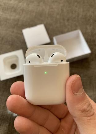 Наушники оригинал Apple AirPods 2 / АирПодс 2