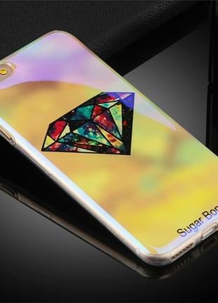 Силиконовый чехол Aurora Sugar Bones Light для iPhone 8