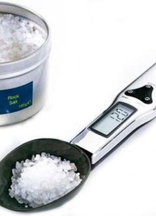 Электронная Мерная ложка-весы Digital Scale цифровая до 500г для