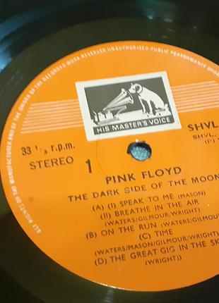 Пластинка Pink Floyd ‎– The Dark Side Of The Moon.