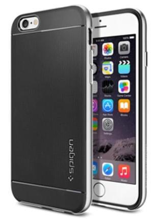 Защитный чехол Neo Hybrid Satin Silver Серебро для iPhone 8