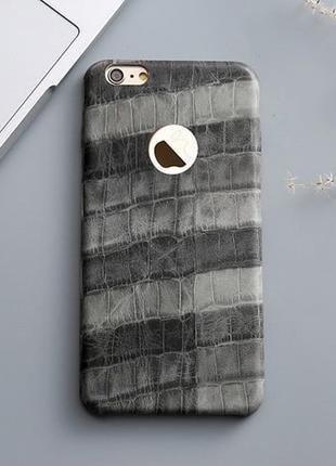 Силиконовый чехол Fantastic Grey Серый для IPhone 7