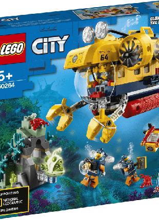 Конструктор лего сіті LEGO City Океан:розвідувальний підводний чо