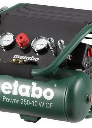 Безмасляный компрессор POWER 250-10 W OF Metabo