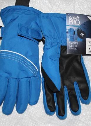 Лыжные мужские термо перчатки crivit pro, германия, размер 7