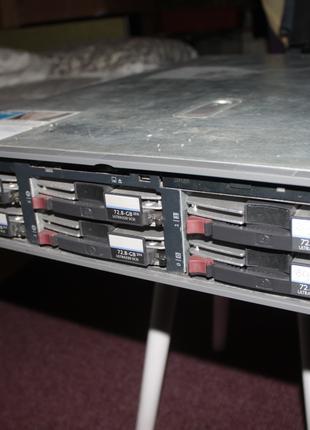 Сервер стоечный HP