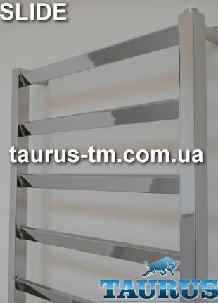 Рушникосушка Slide 8 із н/ж сталі / 850х500 TAURUS: водяна, комбі