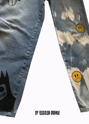 Custom кастом джинсы gothic 2021