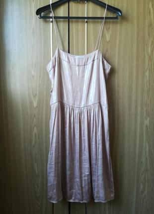 Распродажа акция 1+1=3 платье на бретелях с блеском