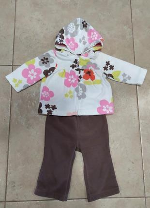 Флисовый костюм теплый набор комплект флиска