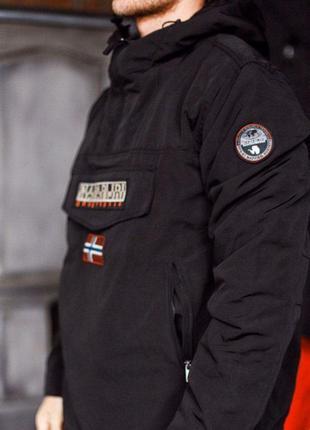 Куртка анорак napapijri(зимний вариант)