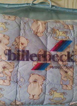 Одеяло детское из овечьей шерсти