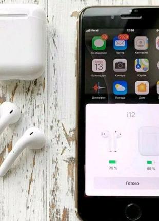 Airpods apple , навушники Bluetooth.