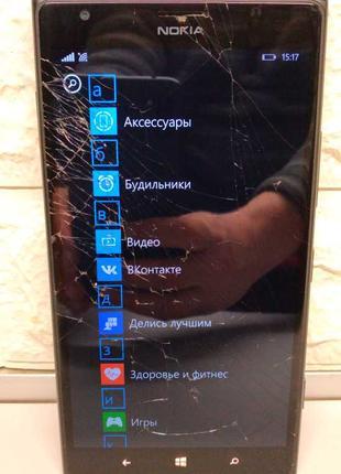 Мобильный телефон (смартфон) Nokia Lumia 1520