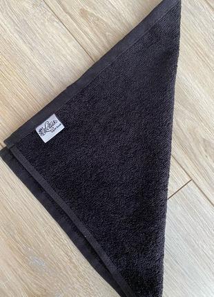 Полотенце для Лица Чёрное Lotus