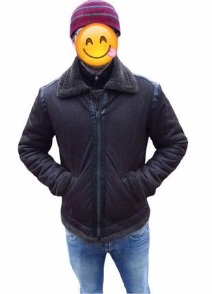 Мужская зимняя куртка Zara L на М 48 - 50