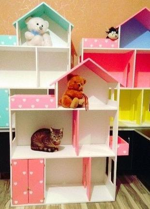 Акция!!Кукольный домик Дом для кукол Барби Монстер Хай Винкс