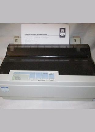 Принтер матричный Epson LX-300+II USB новый- отпечатал 50 страниц