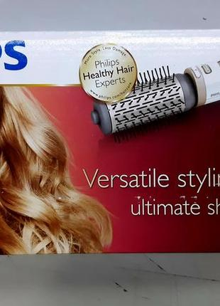 Фен-щетка philips rotating volume brush hp8664/00 - гарантия 2...