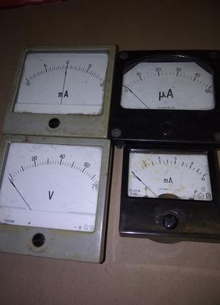 Измерительные приборы стрелочные