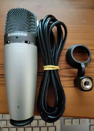 Студийный Конденсаторный Микрофон SAMSON C03U (USB)