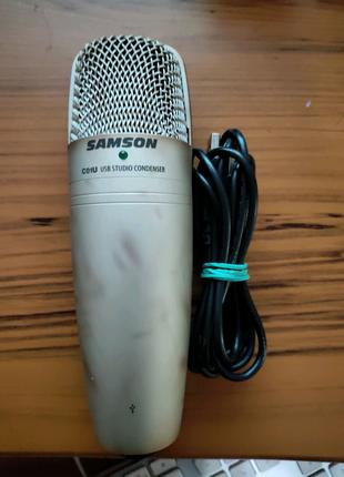 Студийный Конденсаторный Микрофон SAMSON C01U (USB)