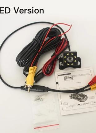 LED8 светильник камера заднего вида/ЖК-дисплей HD камера заднего