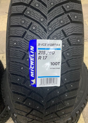 Шина michelin X-Ice North 4 215/60 R17 100 Т