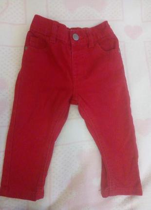 George красные джинсы штаны для малыша