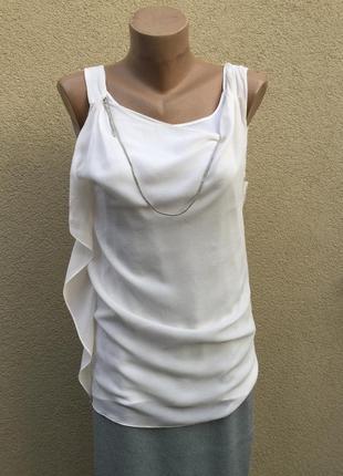 Шелк100%,блуза,майка ассиметрия,люкс бренд,оригинал,brunello c...
