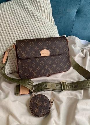 Женская сумка в стиле louis vuitton