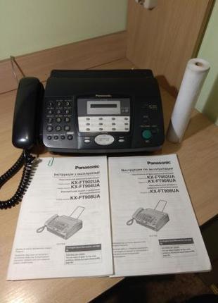 Телефон факс PANASONIC KX-FT902