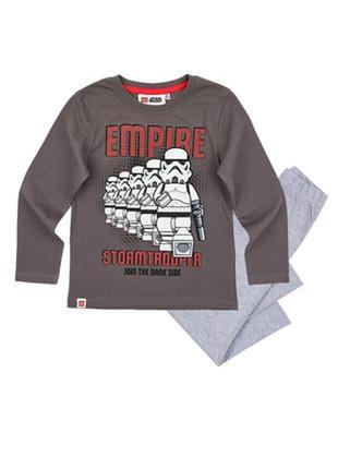 Пижама на мальчика lego wear star wars звездные войны 140см