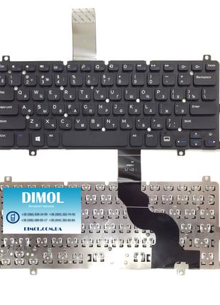 Оригинальная клавиатура для ноутбука Dell Inspiron 11 3000 2-in-1