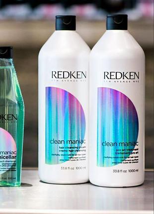 Redken шампунь глубокой очистки редкен clean maniac hair clean...