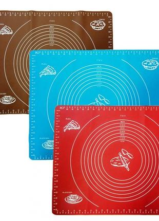 60 x 45 Силиконовый коврик для теста и выпечки