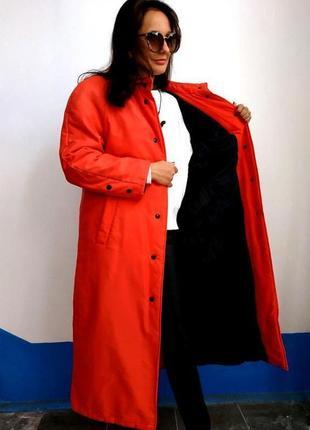 Пальто женское демисезонное утепленное