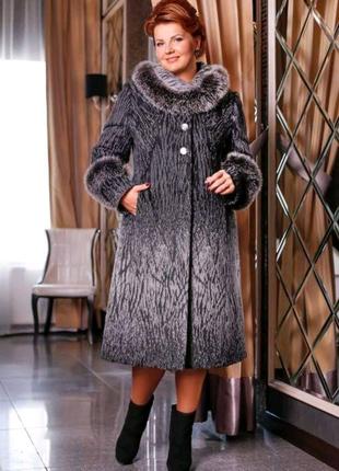 Пальто женское зимнее 52 размер