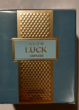 Туалетная вода avon Luck Limitless