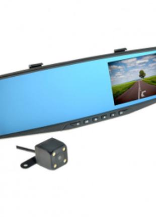 Зеркало с видеорегистратором 2камеры NEXTONE DVR MR-10