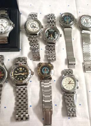 Коллекция часов, договорная, обмен