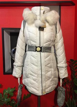 Продам! женский зимний пуховик! куртка пух-перо. новая!