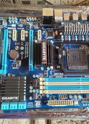 Материнская плата Gigabyte GA-970A-D3 (sAM3+, AMD 970, PCI-Ex16)