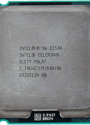 Процессор Intel Dual-Core E3500 (сокет 775)