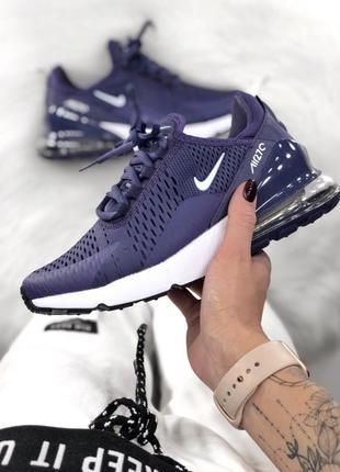 Шикарные кроссовки nike 270 violet