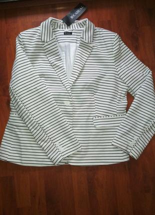 Пиджак женский трикотажный