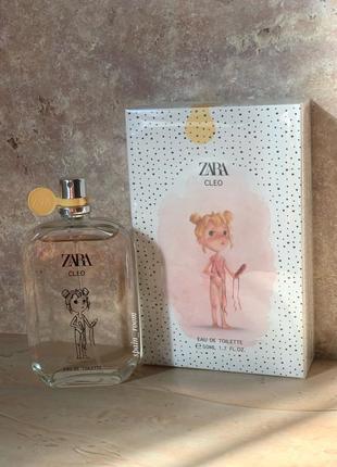 Духи zara kids cleo/туалетная вода для девочек /детские духи